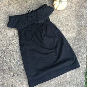 Juicy Couture Black Strapless Dress Size S